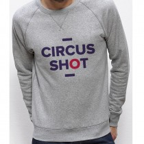 Sweatshirt CIRCUS SHOT rouge
