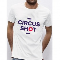 T-shirt CIRCUS SHOT rouge