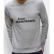 Sweatshirt FROM DOWNTOWN noir