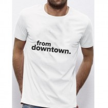 T-shirt FROM DOWNTOWN noir