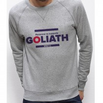 Sweatshirt PERSONNE NE SUPPORTE GOLIATH